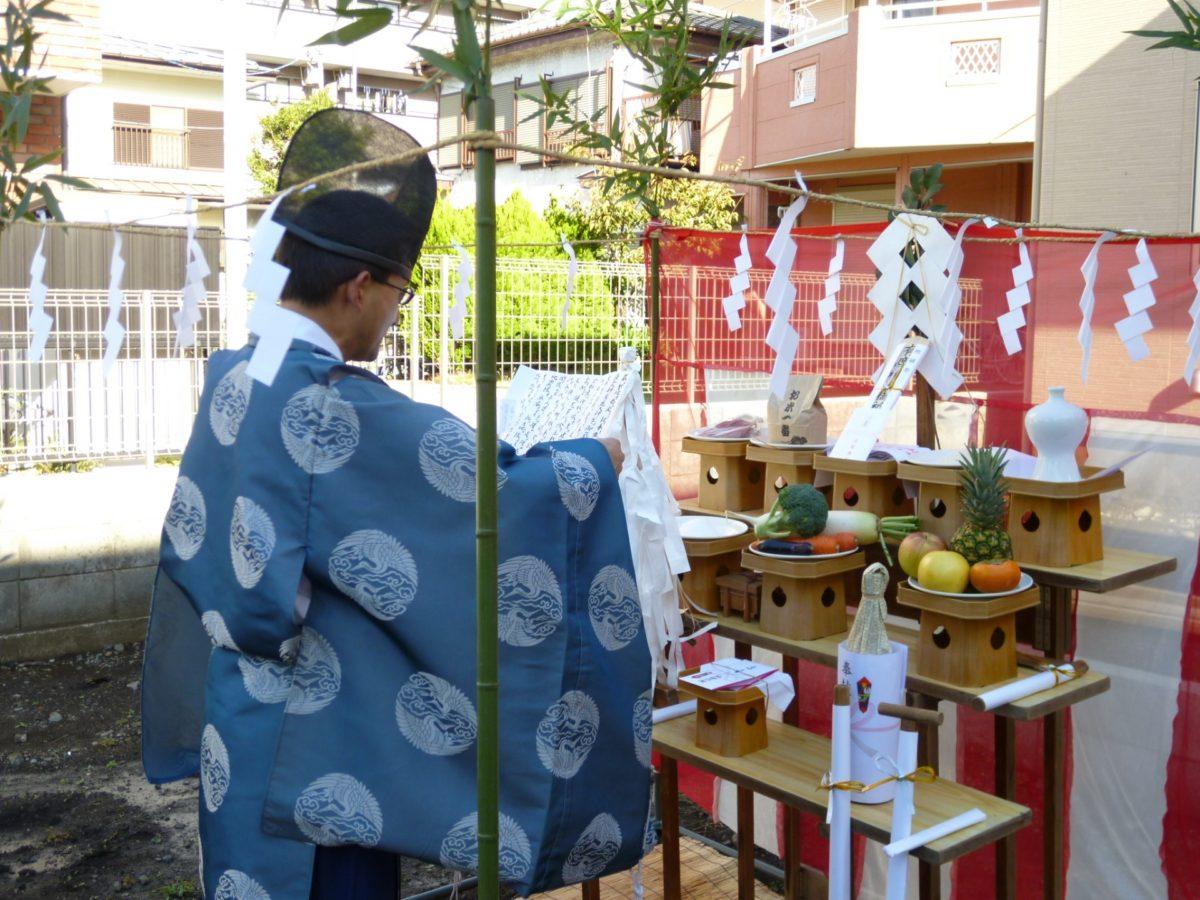 地鎮祭は家のお祓いとどう違う?神社の中の人が内容や意味を一挙解説
