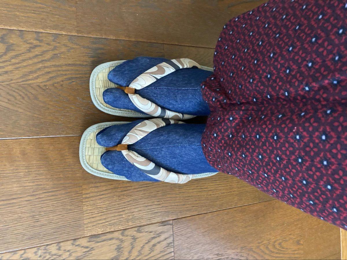 草履より痛くない!カジュアル着物を3倍楽しめる「い草サンダル」の魅力